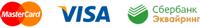 Логотипы поддерживаемых платежных систем